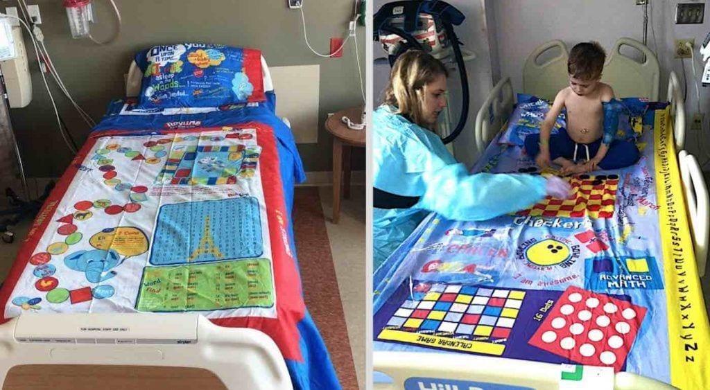 sábanas de juegos de mesa