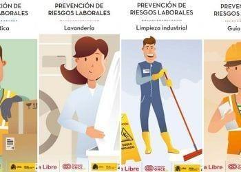 Guías de prevención de riesgos laborales en lectura fácil   Foto de Fundación ONCE