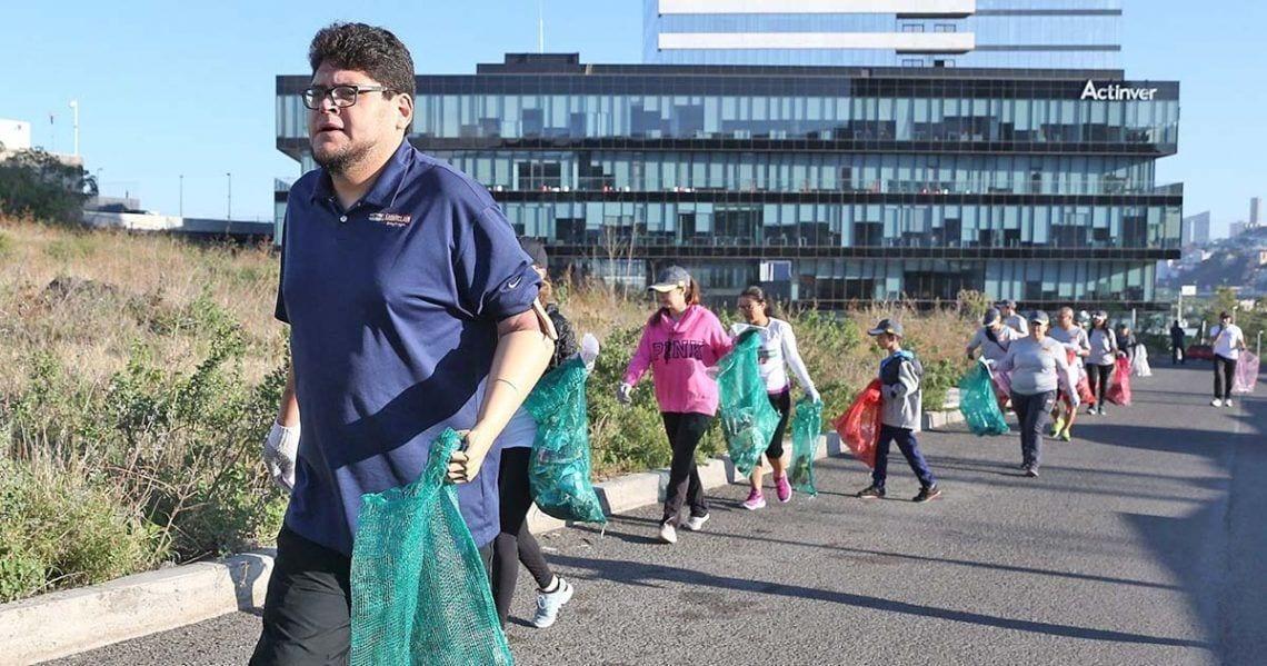 Inclusión y medio ambiente van de la mano en Ploggin Race | Foto de Infobae.com