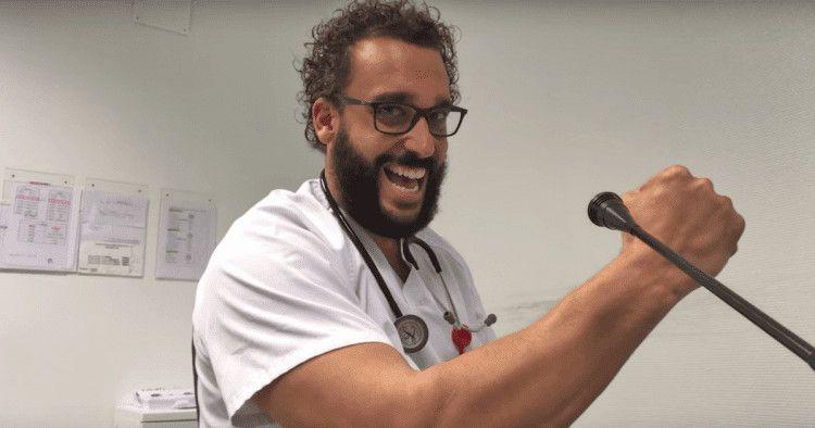 El doctor Jesús Candel , conocido como 'Spiriman'