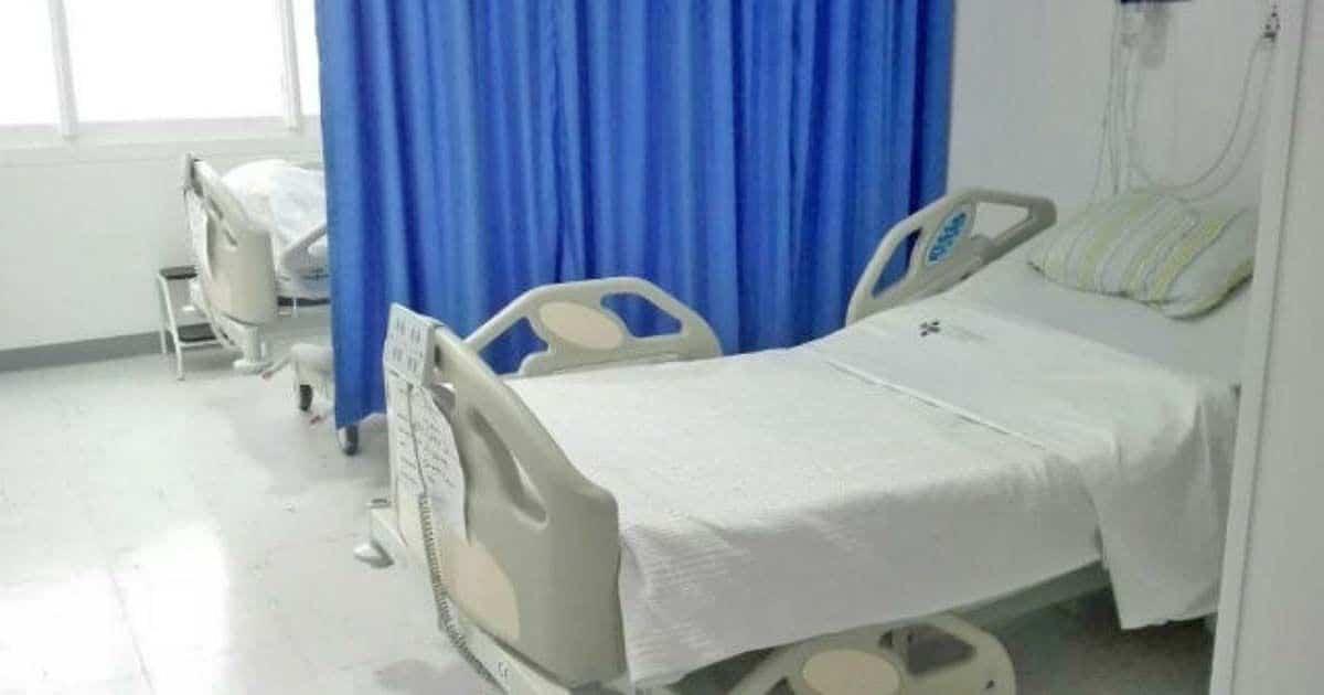 Camas en el hospital