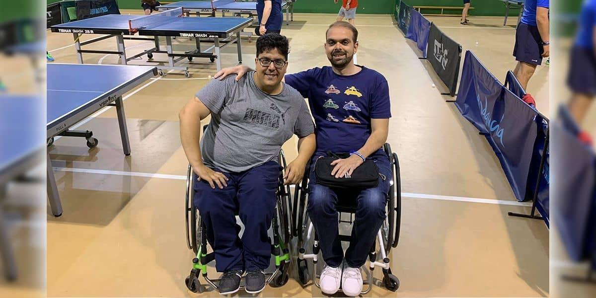 David Pavia y Francisco Zuasti
