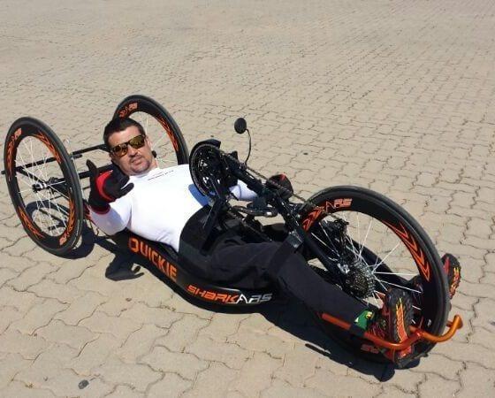 handbike quickie RS segunda mano