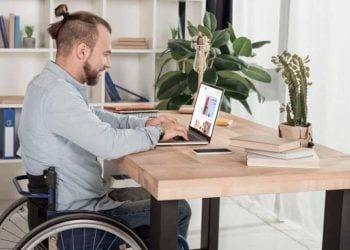 trabajador con discapacidad autónomo