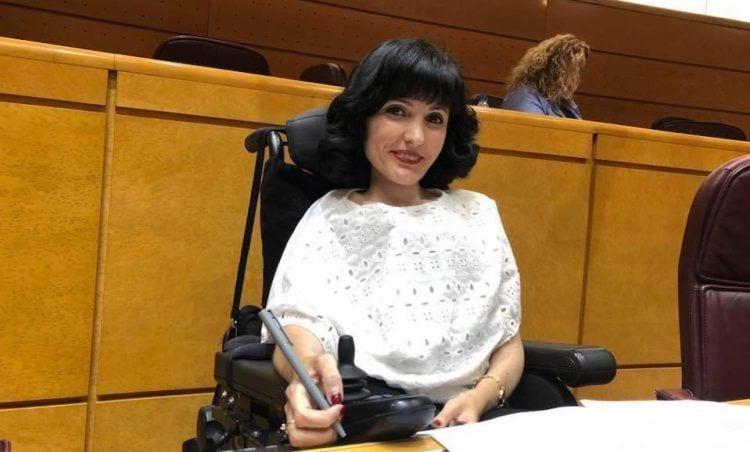 Virginia Felipe en el Senado