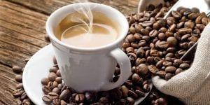 Un café servido