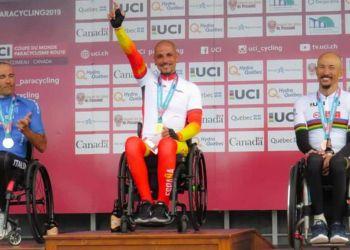 Sergio Garrote Podium