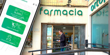 farmacia y movil con la app telefarmacia