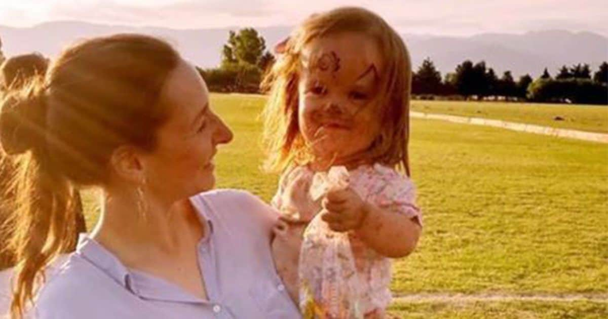 Cecilia y su hija Leive
