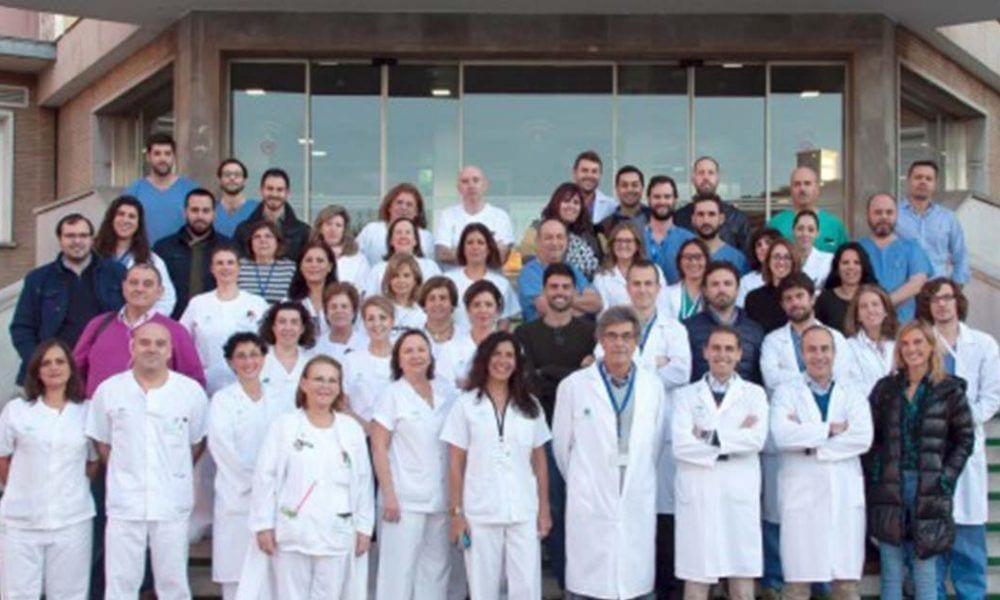 El equipo especialistas de la unidad de Ortopedia Infantil del Virgen del Rocío