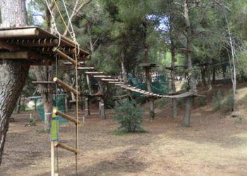 Algunas de las zonas del parque inclusivo