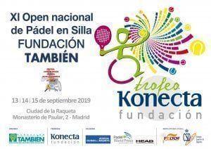 Cartel Torneo de Pádel en Silla