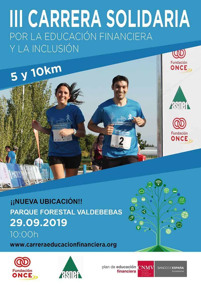Cartel carrera inclusiva