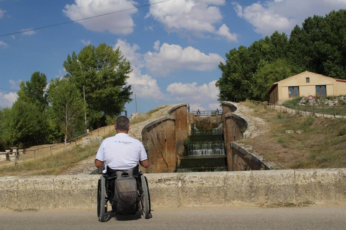 Camino de Santiago en silla de ruedas