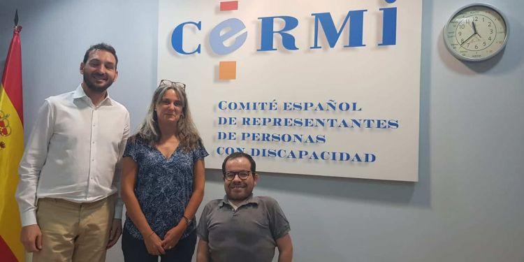 Representantes del CERMi