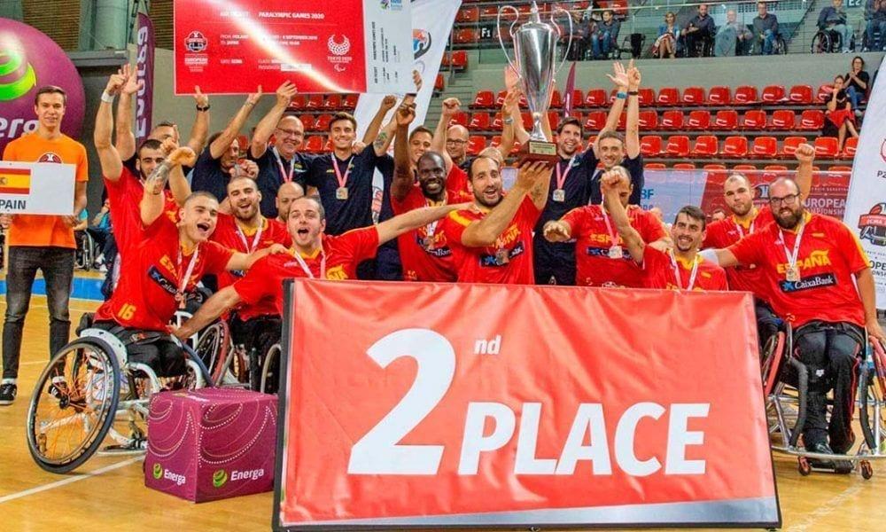 Medalla de plata en el Europeo para la Selección masculina de Baloncesto en Silla de Ruedas   Foto de Imagen SA
