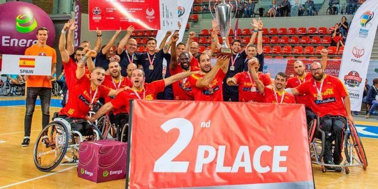 Medalla de plata en el Europeo para la Selección masculina de Baloncesto en Silla de Ruedas | Foto de Imagen SA