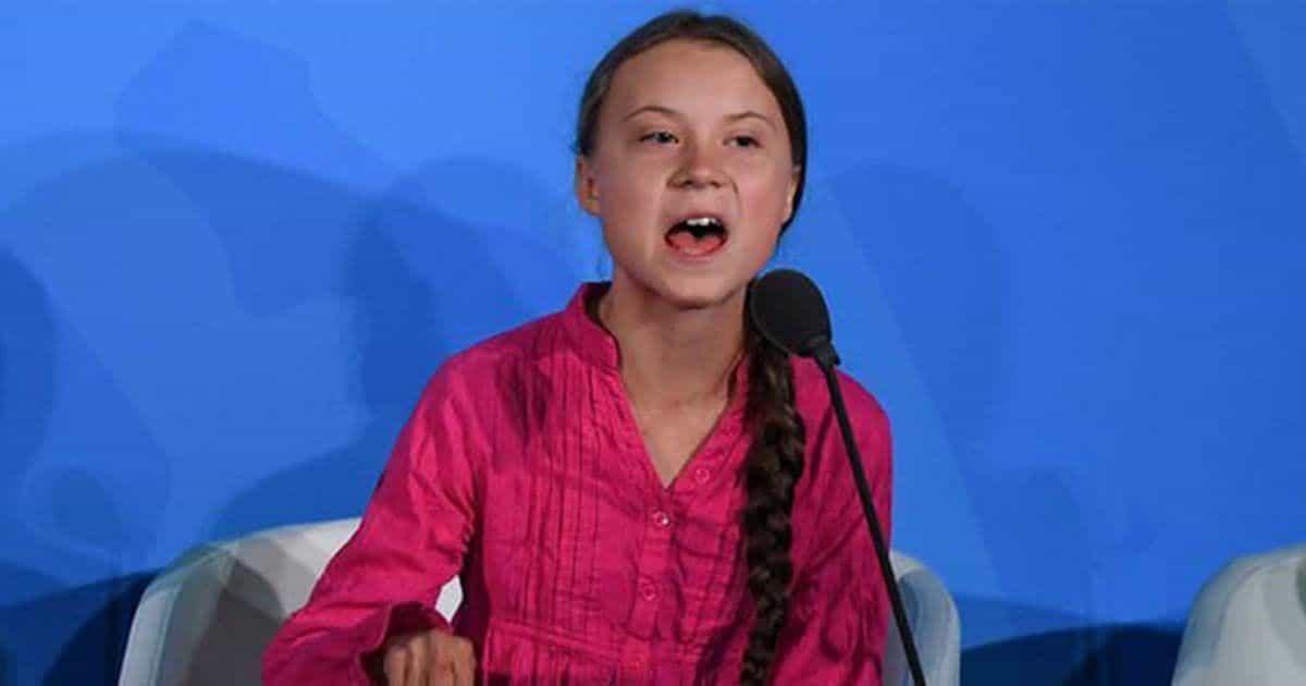 Greta Thunber, activista con Asperger. Foto: Getty
