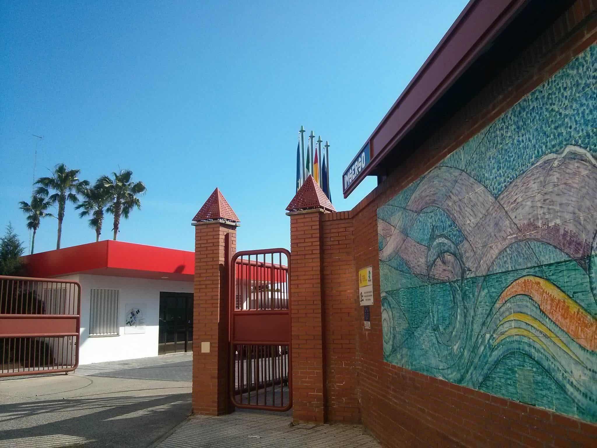 Portada del CRMF San Fernando