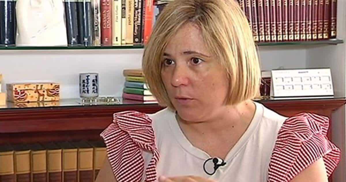 Rocío Guadalupe León, primera profesora con discapacidad intelectual. Foto: Canal Sur