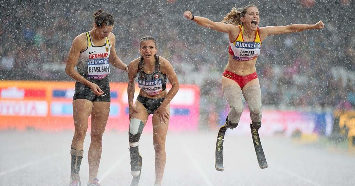 Sara Andrés Barrio atleta paralímpica