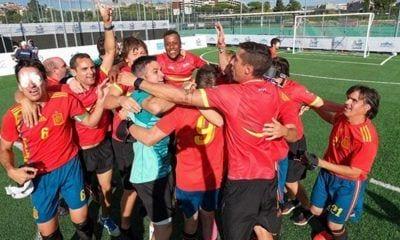 La Selección celebrando el sexto título europeo.