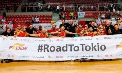 Equipo selección Española de baloncesto en silla de ruedas