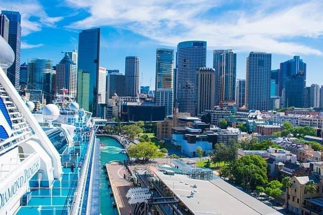 Crucero accesible Australia