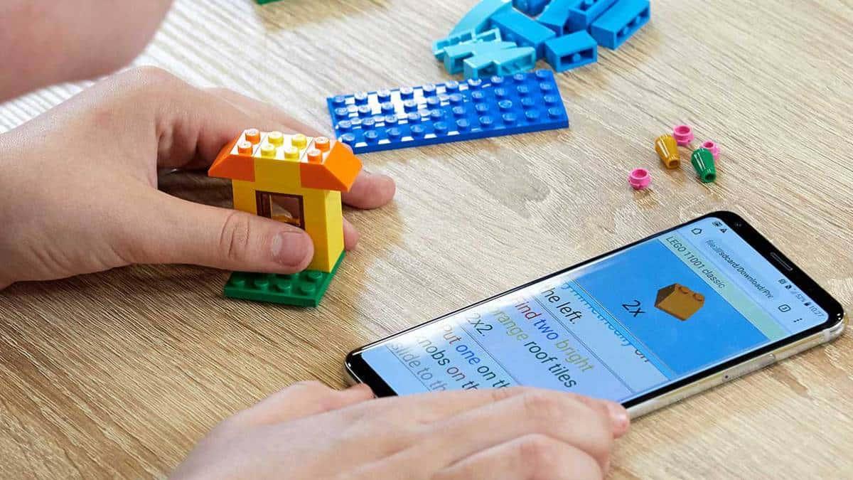 Instrucciones LEGO para personas con discapacidad visual