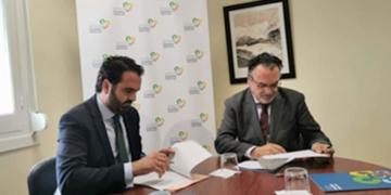 Íñigo Alli (CEDDD) y José Manuel Trigo (FEFN)