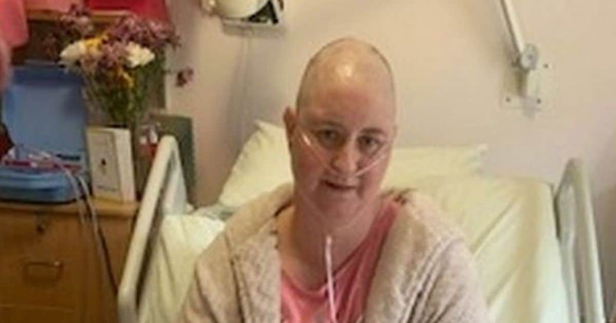 Mujer con cáncer | Foto: The Daily Record