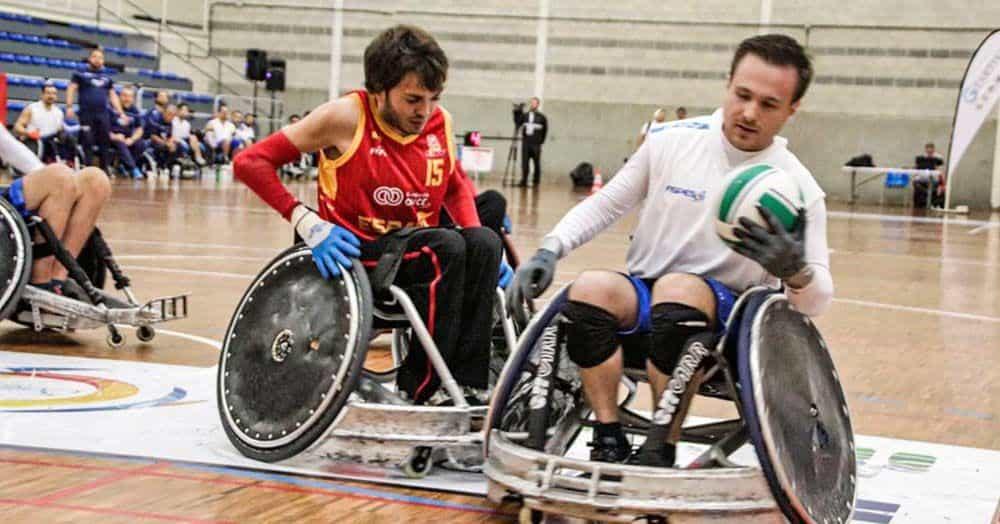 Rugby en silla de ruedas - Subvenciones deporte adaptado