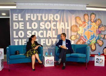 El expresidente del Gobierno José Luis Rodríguez Zapatero CERMI