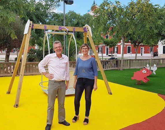 Inauguración del parque infantil