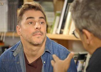 Jordi Roca siendo entrevistado por Buenafuente