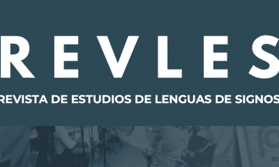 Portada Revista de Estudios de Lenguas de Signos(REVLES)