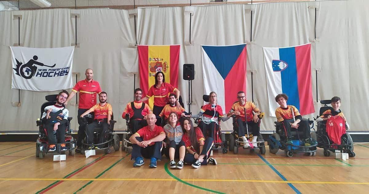 La Selección Española de Hockey en Silla de Ruedas se proclama campeona del Torneo Clasificatorio al Europeo