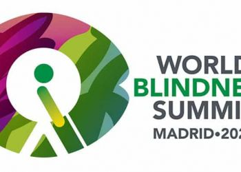 Logo World Blindness Summit Madrid 2020