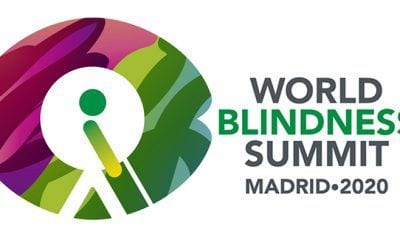 Logo World Blindness Summit Madrid 2020