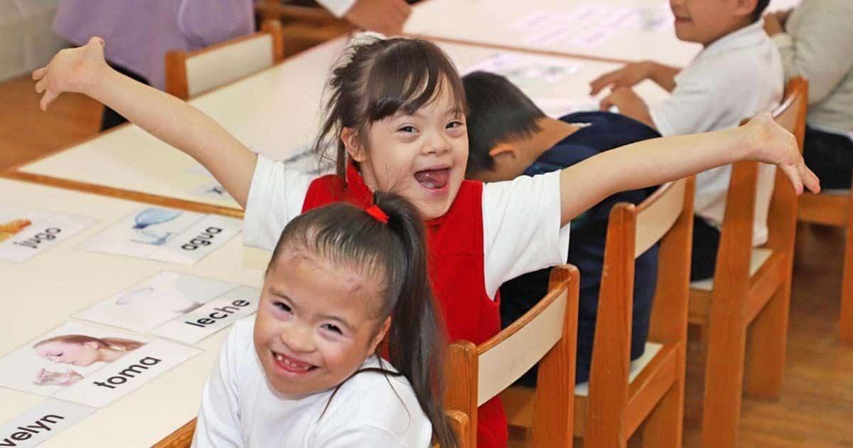 Alumna con Síndrome de Down