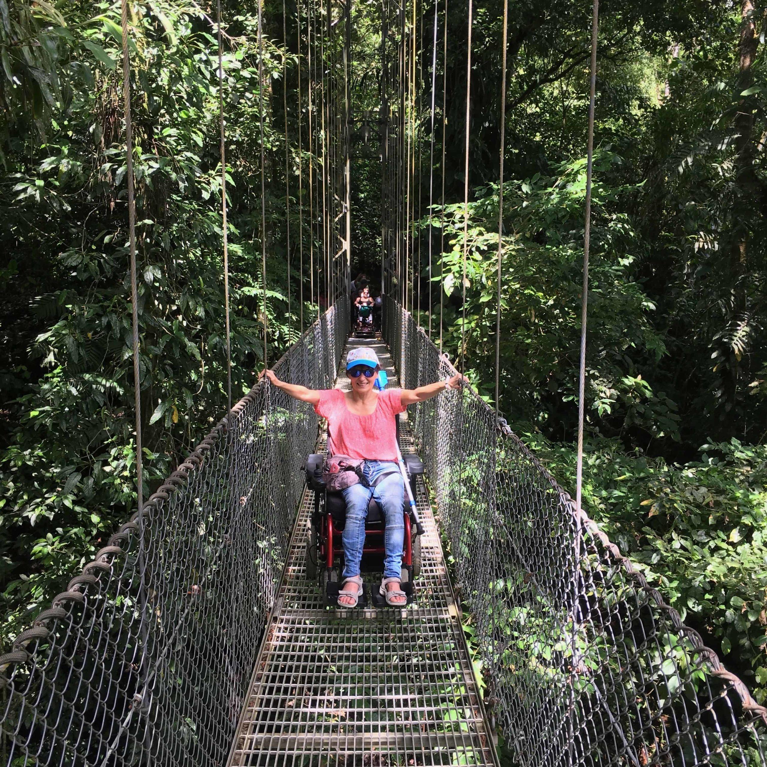 Costa Rica accesible. Destinos accesibles