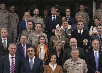 Homenaje Ejército español