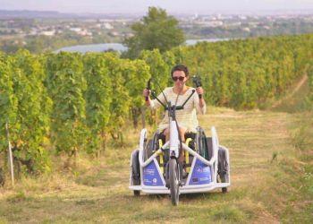 El nuevo triciclo eléctrico de Benur | Foto de Euronews