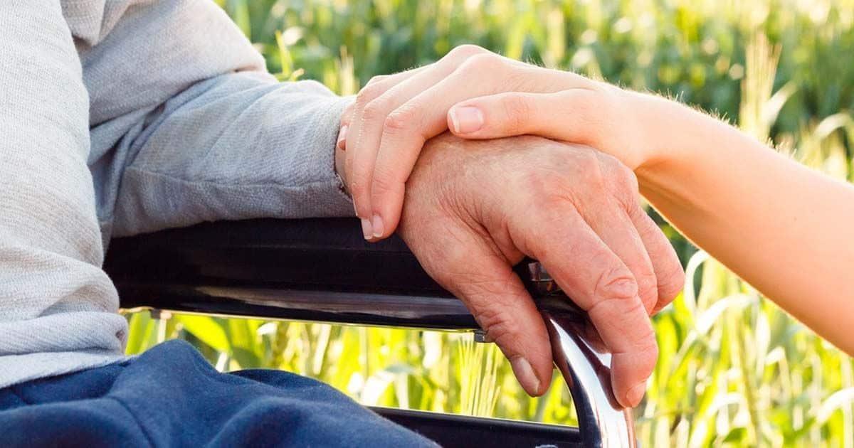 pensión Persona en silla de ruedas con incapacidad permanente total