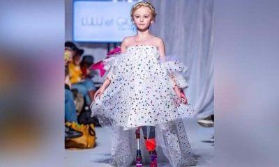 Daisy-May Demetre en la Semana de la Moda de París