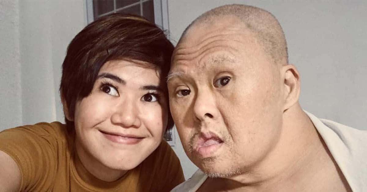 Hija y su padre con síndrome de Down. Foto: Facebook
