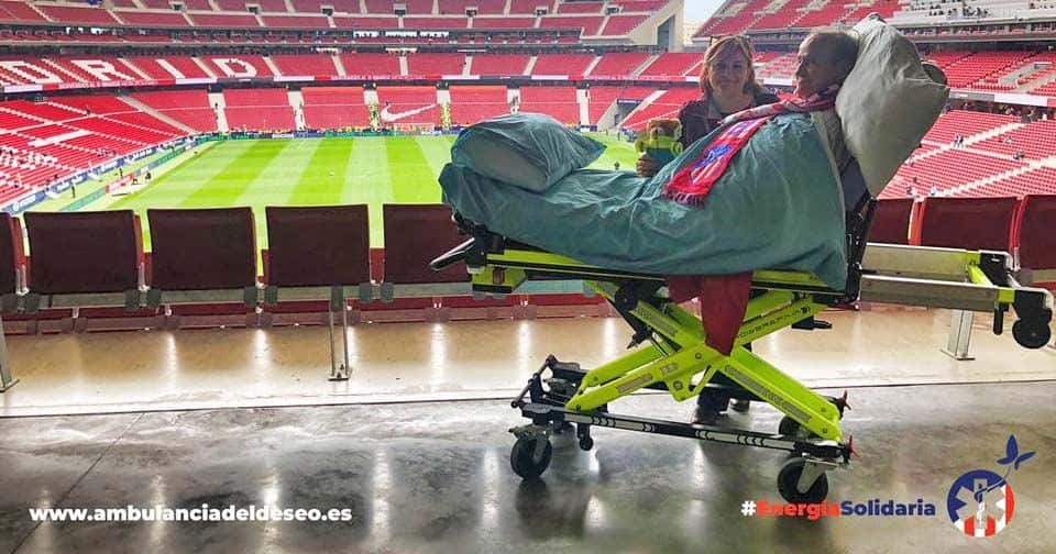 Ángel en el Wanda Metropolitano