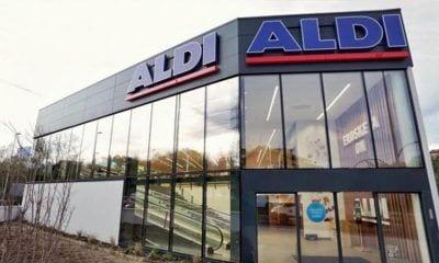 Supermercado Aldi en Gipuzkoa.