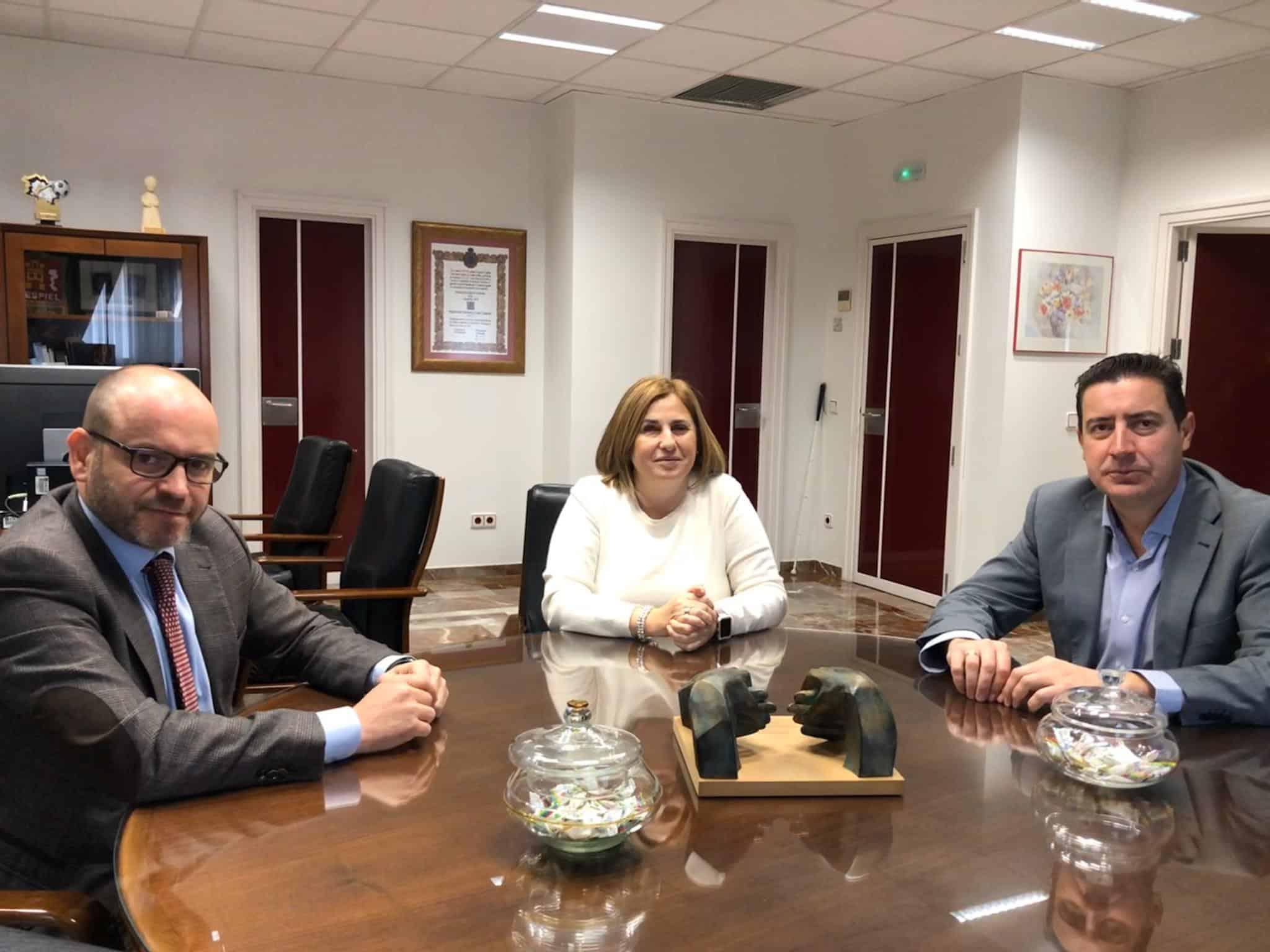 Bernardo Jordano, Carmen Aguilera y Francisco de la Torre