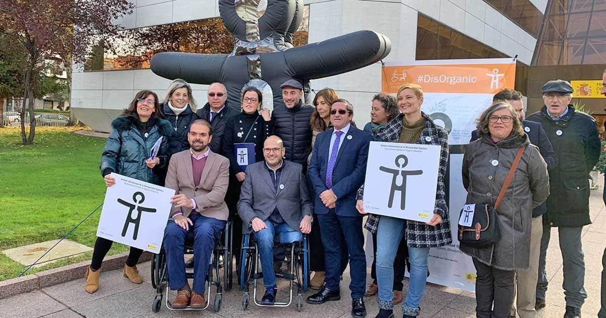 Acto de presentación del Símbolo Internacional de la Discapacidad Orgánica
